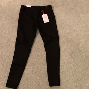 Cotton black jeans. New with tags